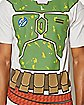 Boba Fett Over the Head T shirt