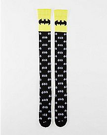 Print Batman Over the Knee Socks