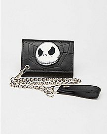 Jack Skellington Web Chain Wallet - The Nightmare Before Christmas