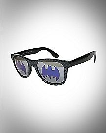 Logo Batman Sunglasses - Purple