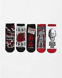 The Walking Dead Socks 5 Pair