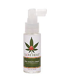 I Love Hemp Wild Strawberry Flavored Organic Dry Mouth Spray - 2 oz.
