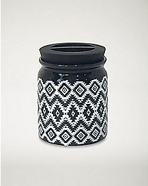 Tribal Print Storage Jar - 3 oz