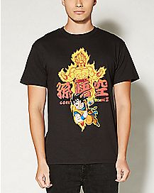 Dragon Ball Z Gold T shirt