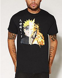 Fire Face Naruto T Shirt