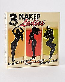 3 Naked Ladies Tongue Twister Card Game