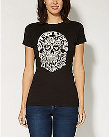 Sugar Skull Sublime T shirt