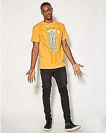 Dumb and Dumber Lloyd Orange Costume T shirt