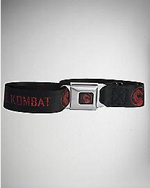 Logo Mortal Kombat Seatbelt Belt