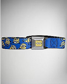 Allover Minions Seatbelt Belt - Despicable Me