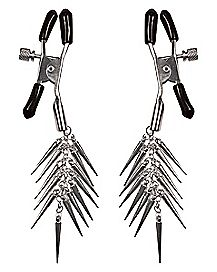 Pleasure Bound Spike Nipple Clamps