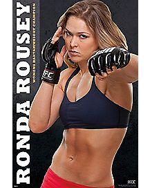 UFC Womens Champion Ronda Rousey Poster