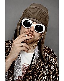Smoking Kurt Cobain Poster