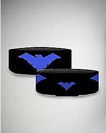 Black and Purple Nightwing Bracelet