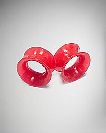 Red Tunnel Plugs