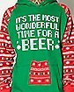 Most Wonderful Time For a Beer Fleece Sweatshirt