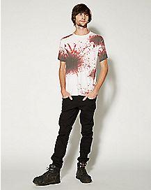 Blood Splatter T shirt