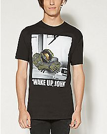 Halo Wake Up John T shirt