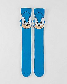 3D Sonic Knee High Socks