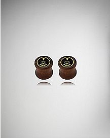Organic Buddha Wood Tunnel Plugs