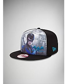 New Era Nightwing Arkham Snapback Hat