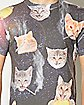 Cats Smoking Sublimated T shirt