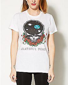 Space Skull Grateful Dead T shirt