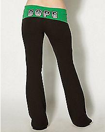 Dope Yoga Pants