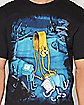 Jake Melting Adventure Time T shirt