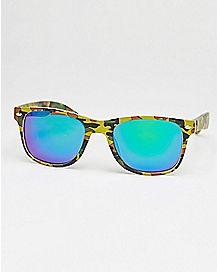 Camo Square Sunglasses