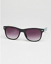 Hawaiian Floral Square Sunglasses