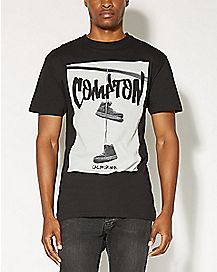 Shoes On A Wire Compton California T shirt