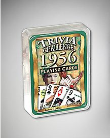 1956 Trivia Challenge Playing Cards