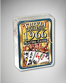 1966 Trivia Playing Card Game