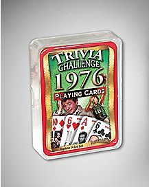 1976 Trivia Challenge Playing Cards