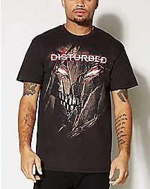 Immortal Face Disturbed T shirt