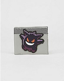 Gengar Troublemaker Pokemon Bifold Wallet