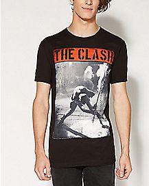 Guitar The Clash T shirt