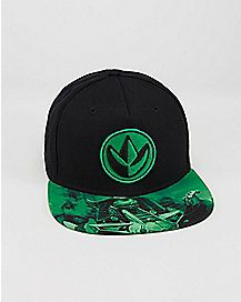 Green Ranger Power Rangers Snapback Hat