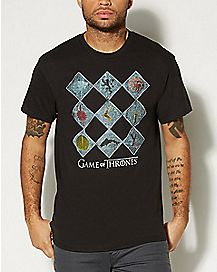 Checkers Game of Thrones T Shirt