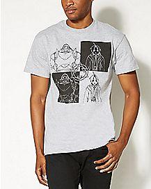 Split Fullmetal Alchemist T shirt