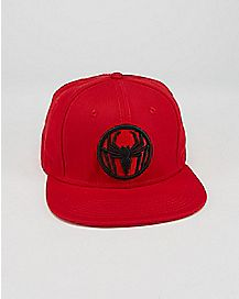 Spider-Man Red Snapback Hat