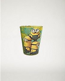 Minions Group Mini Glass
