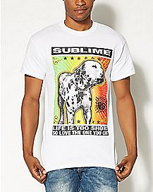 Sublime Dalmatian Rasta T shirt