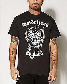 Skull Motorhead England T shirt