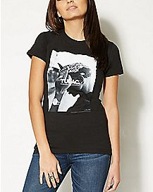 Tupac Finger T shirt