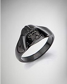 Black Darth Vader Star Wars Ring