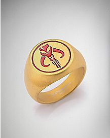 Warriors of Mandalore Star Wars Ring