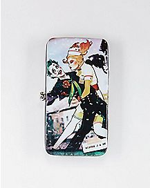 Mister J and Me Harley Quinn & Joker Hinged Wallet