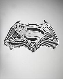 Batman v Superman Belt Buckle